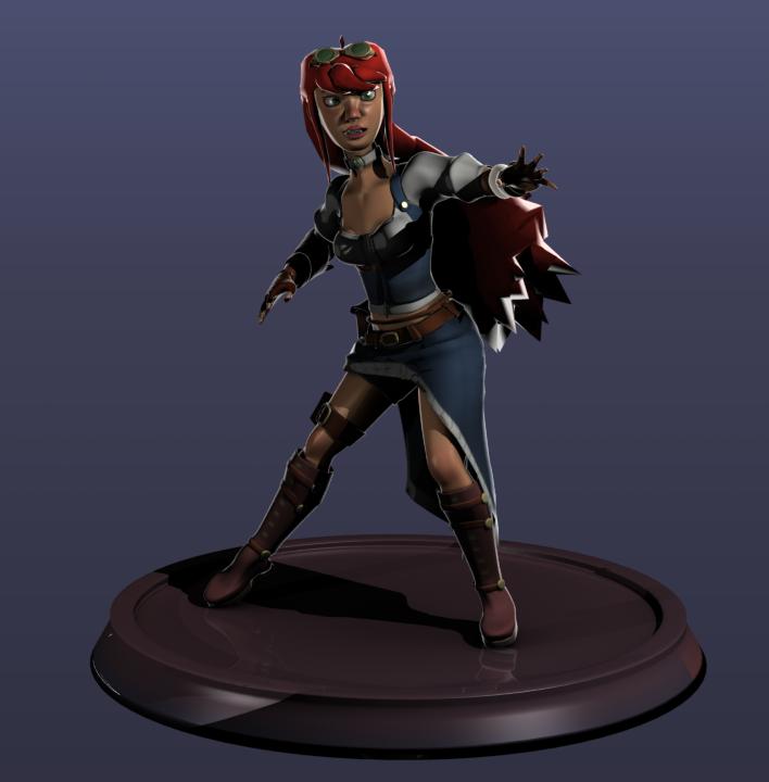 Aine the treasure hunter 3D