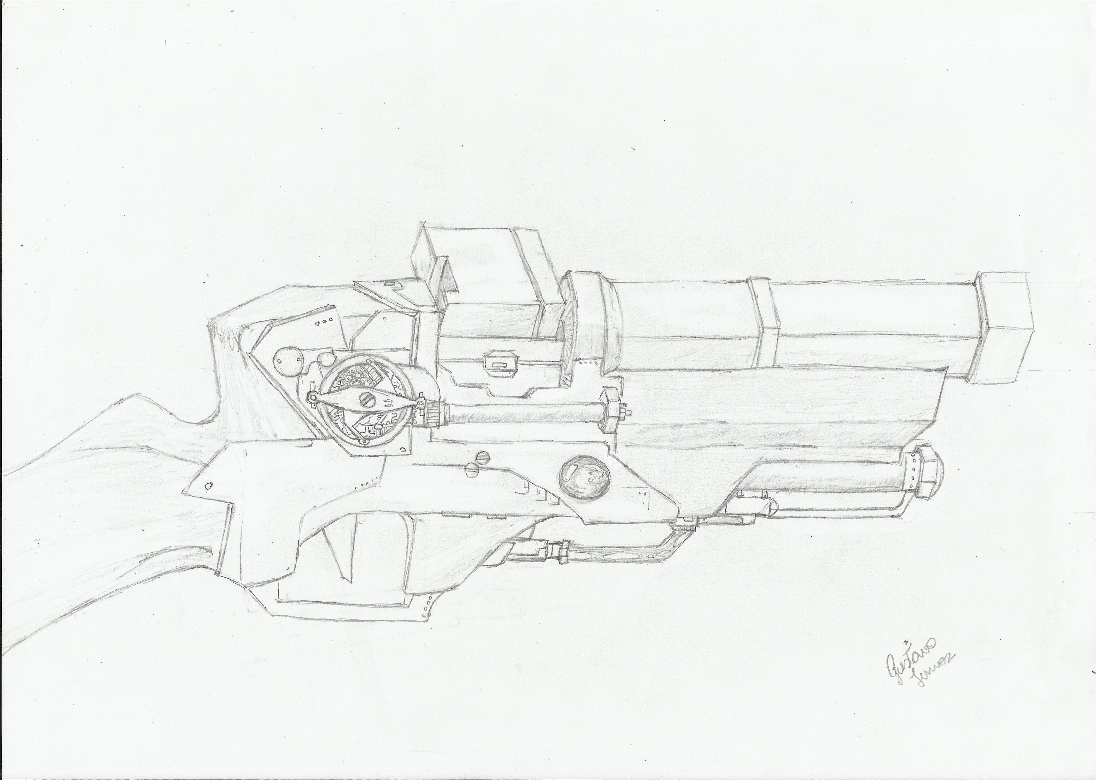 Corvo's Pistol