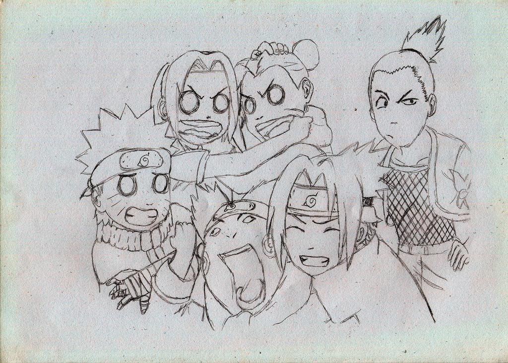 Naruto And The Gang