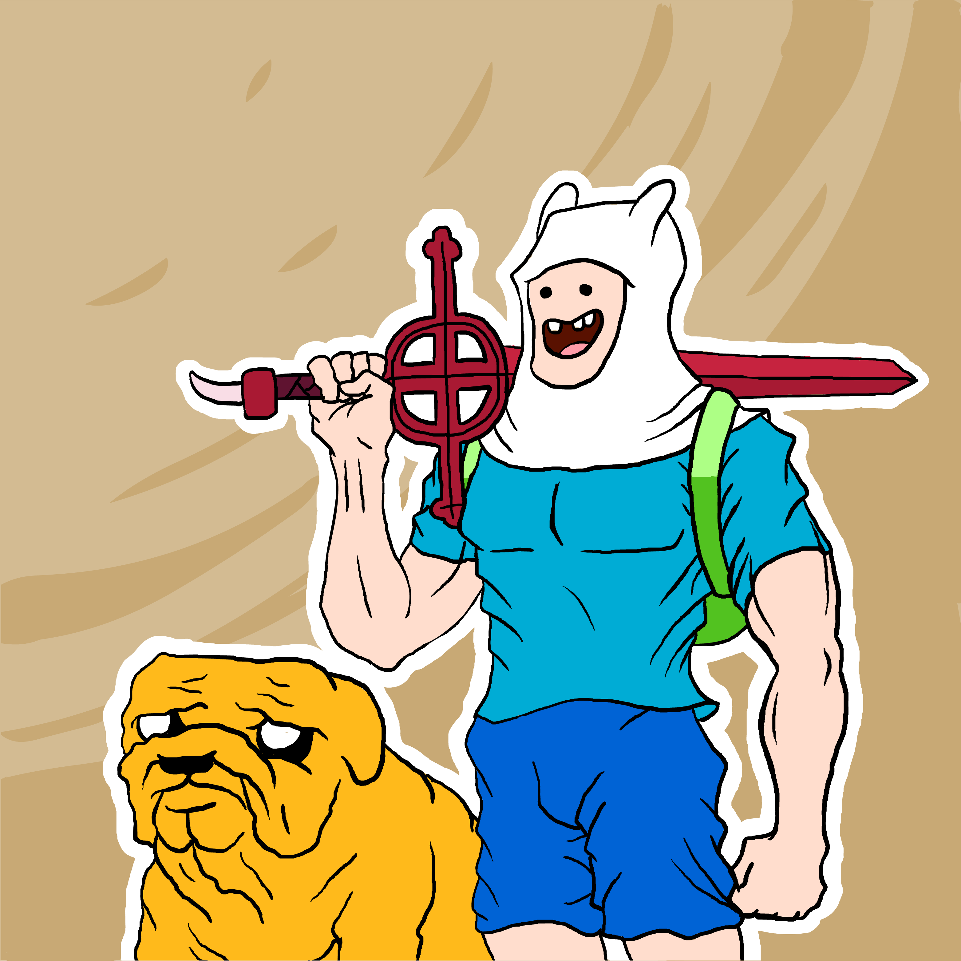Manly Adventure Time