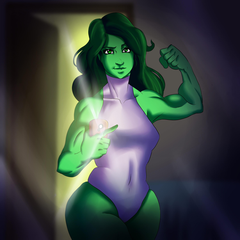 She-Hulk Selfie