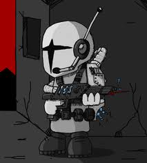 Madness Grunt with rifle