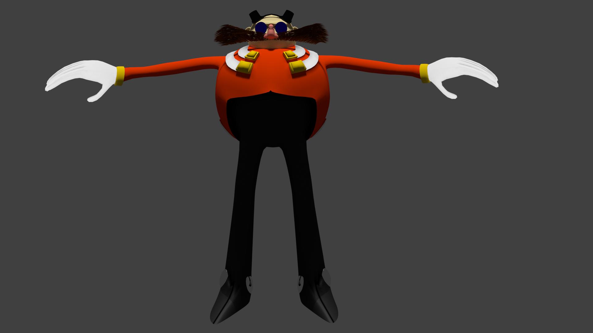 Doctor Eggman Model Practice