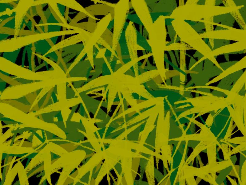 Bamboo Clutter