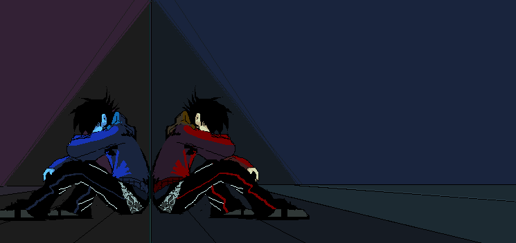 Mirrored apart