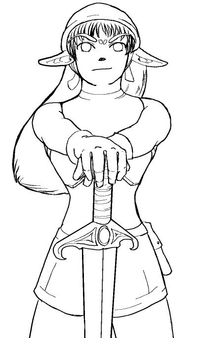 Elf Renegade Soldier