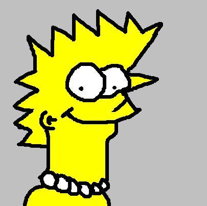 Lisa Simpson - Caricature
