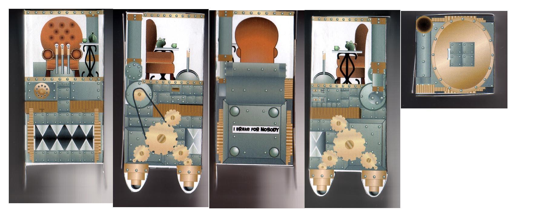 July 2009 Papercraft Entry