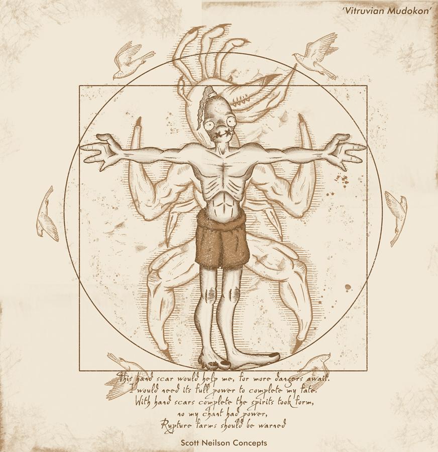 Vitruvian Mudokon
