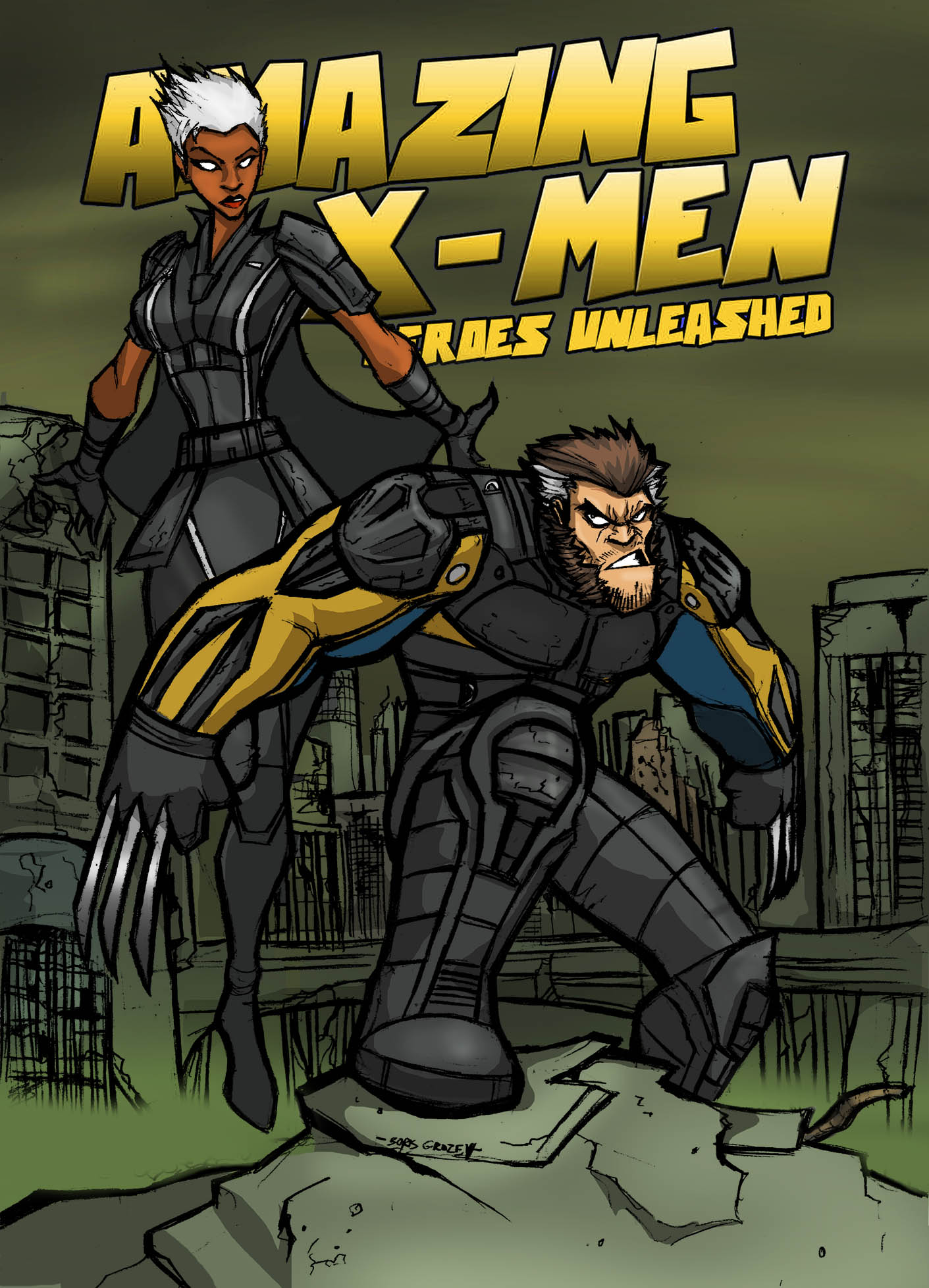 AMZING X-MEN:DOFP variant