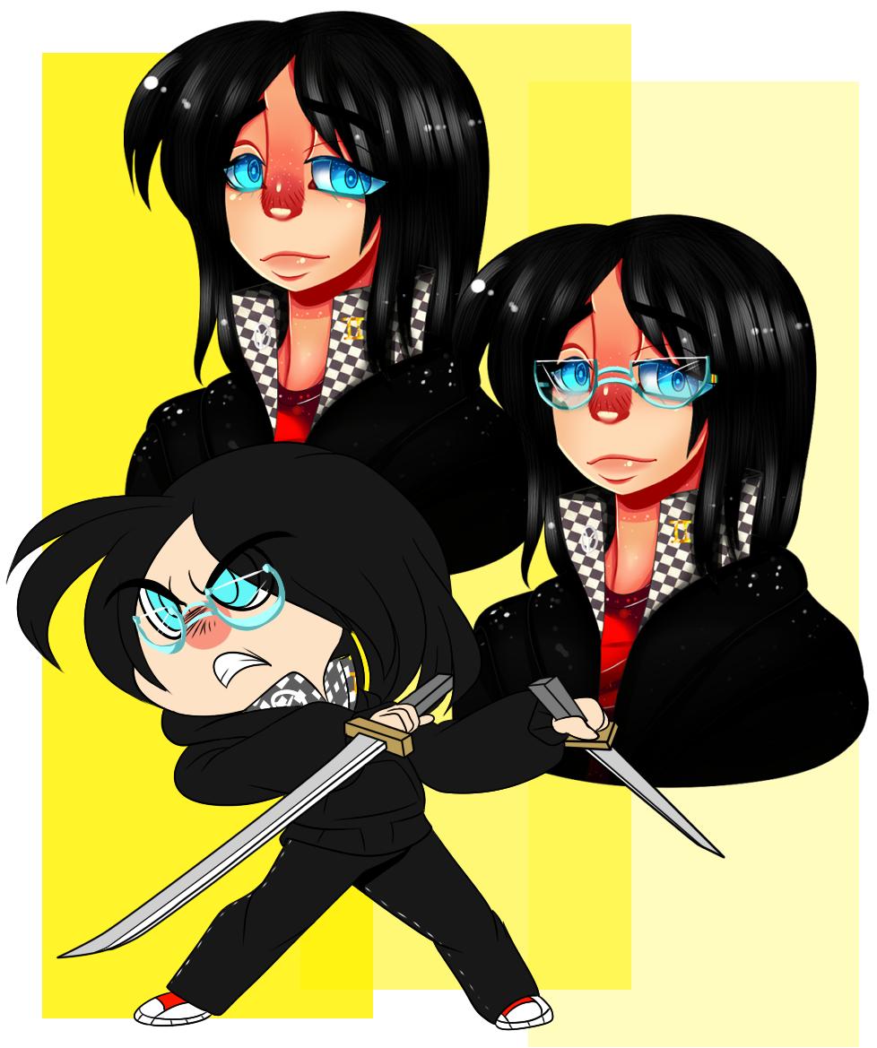 Persona 4 OC: Riku Nagase