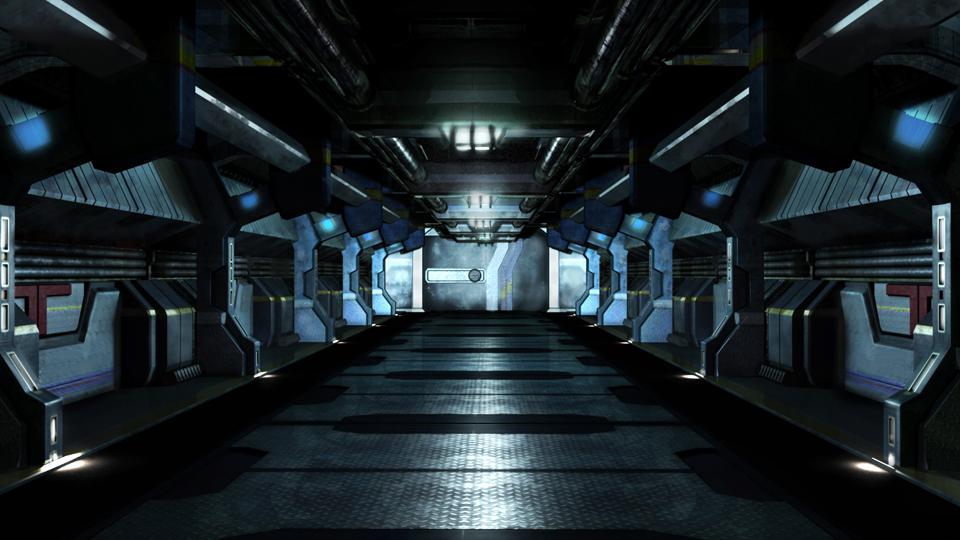 Obligatory Sci-Fi Corridor