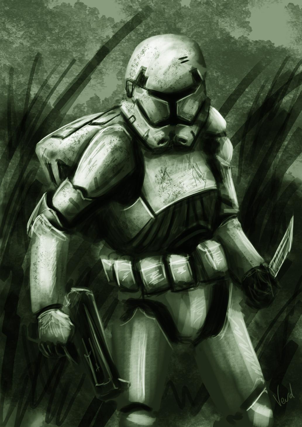 Trooper speedpaint