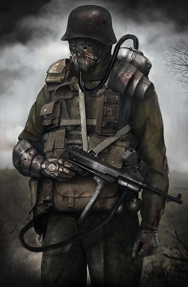 Sub Machine Gun Grunt