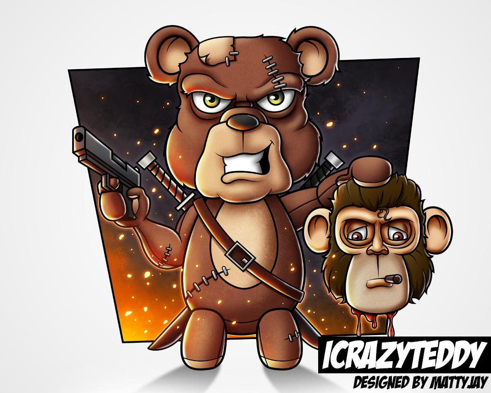 iCrazyTeddy Character