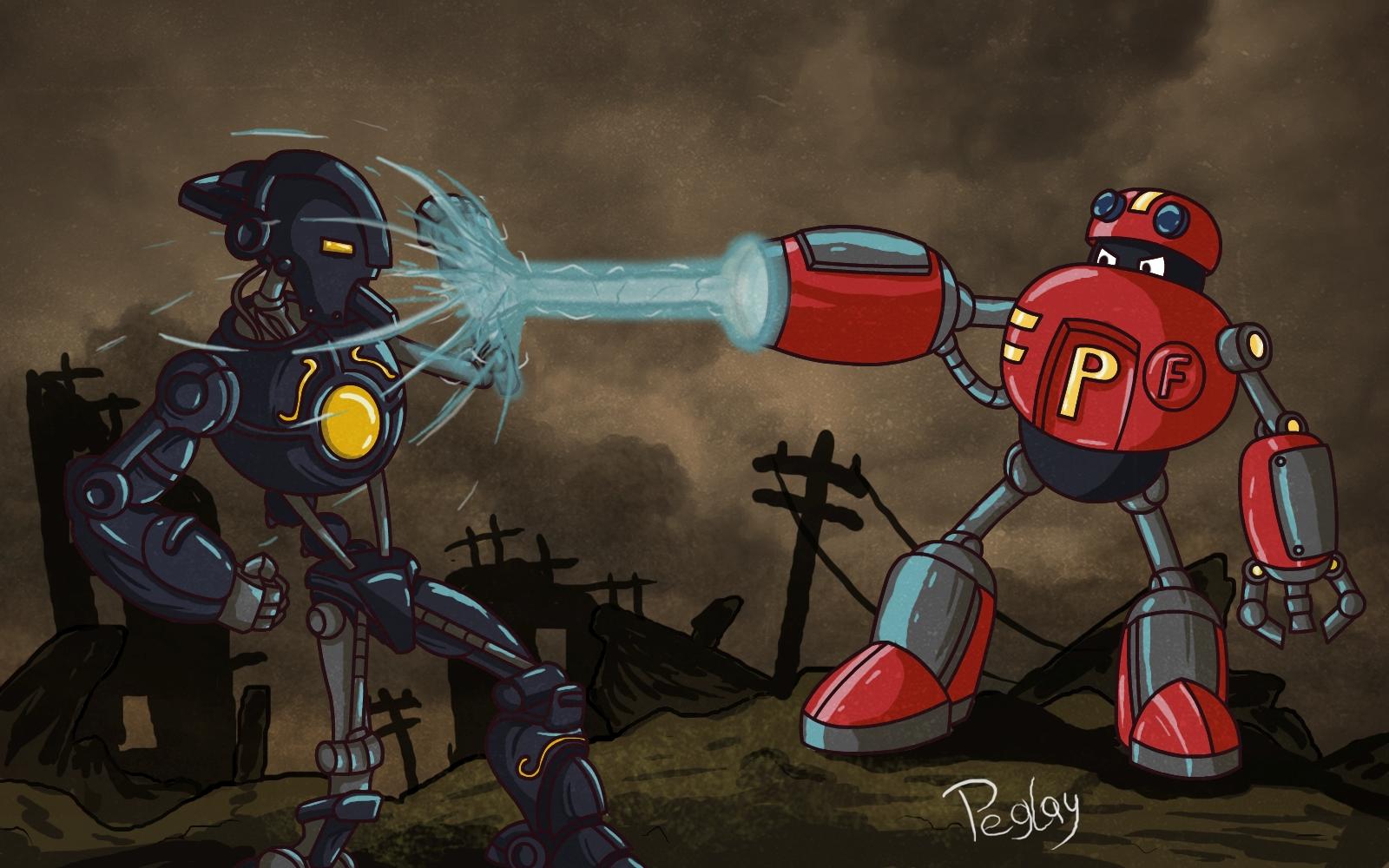 P-Bot VS Mindchamber