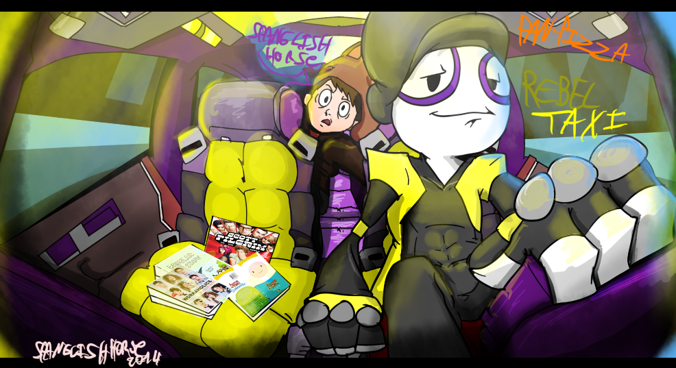 Rebeltaxi Fan art