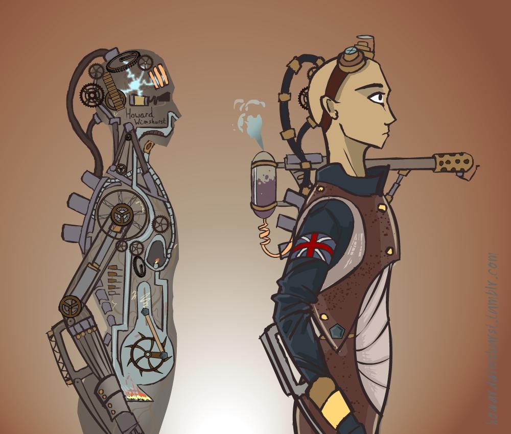 Steam-punk Humanoid Design