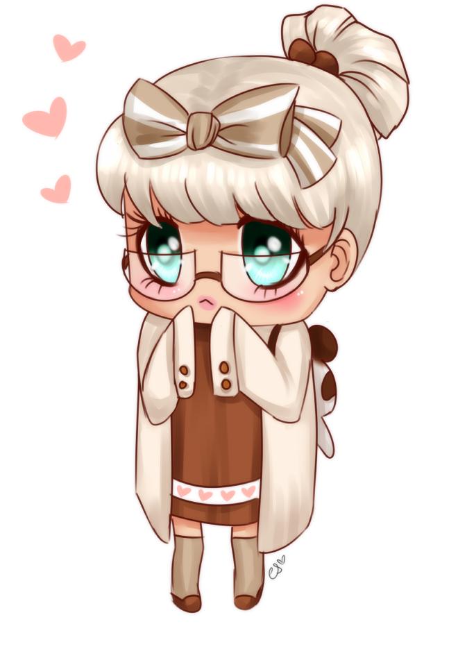 Cute Chocolate Chibi