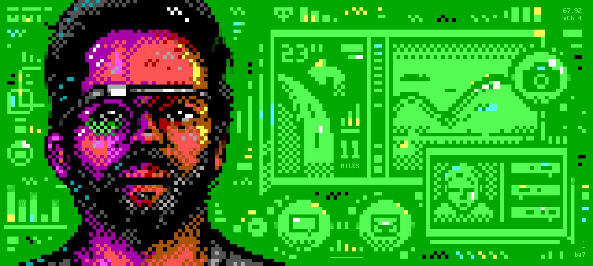 Sergey Brin portrait