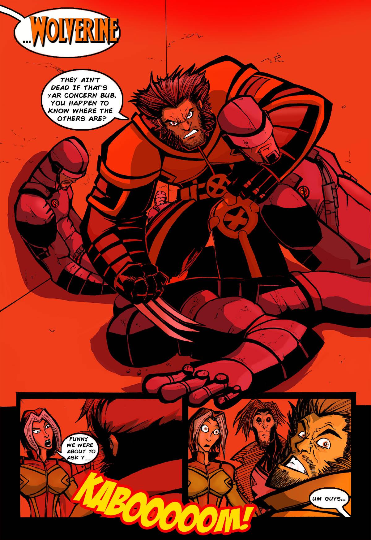 AMAZING X-MEN:HU PROLOGUE P2