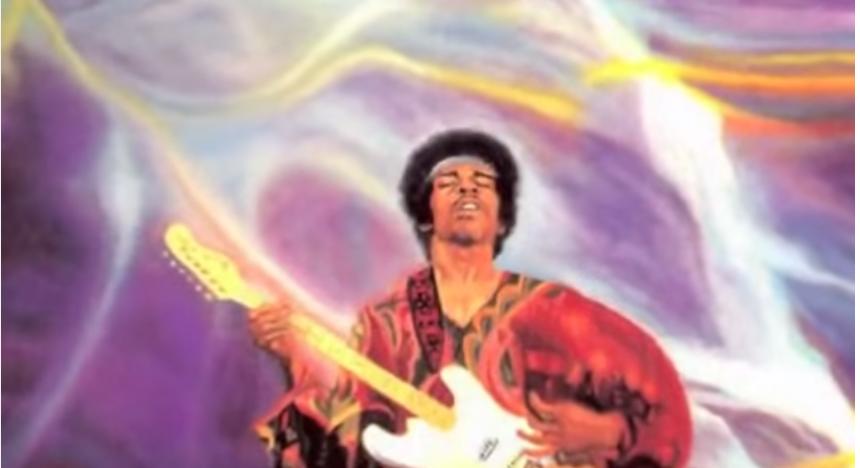 Jimi Hendrix At Isle of wight