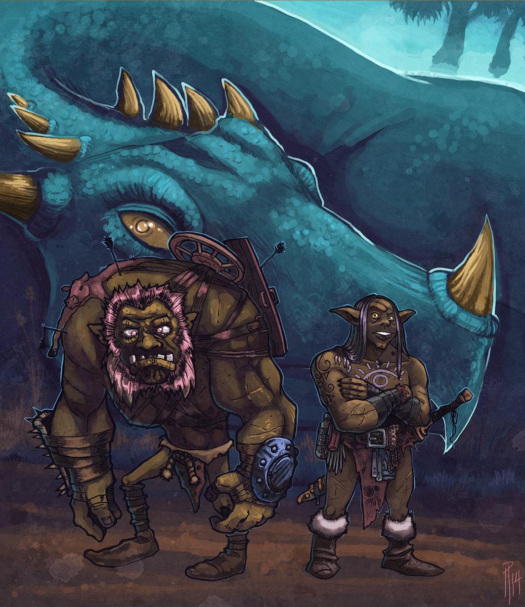 Brownskins and the Dragon
