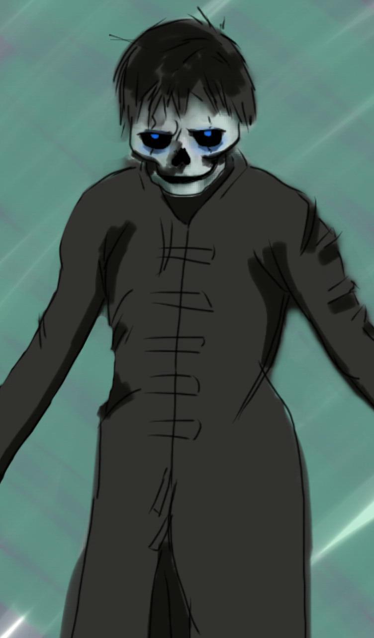 Me As A Skeleton
