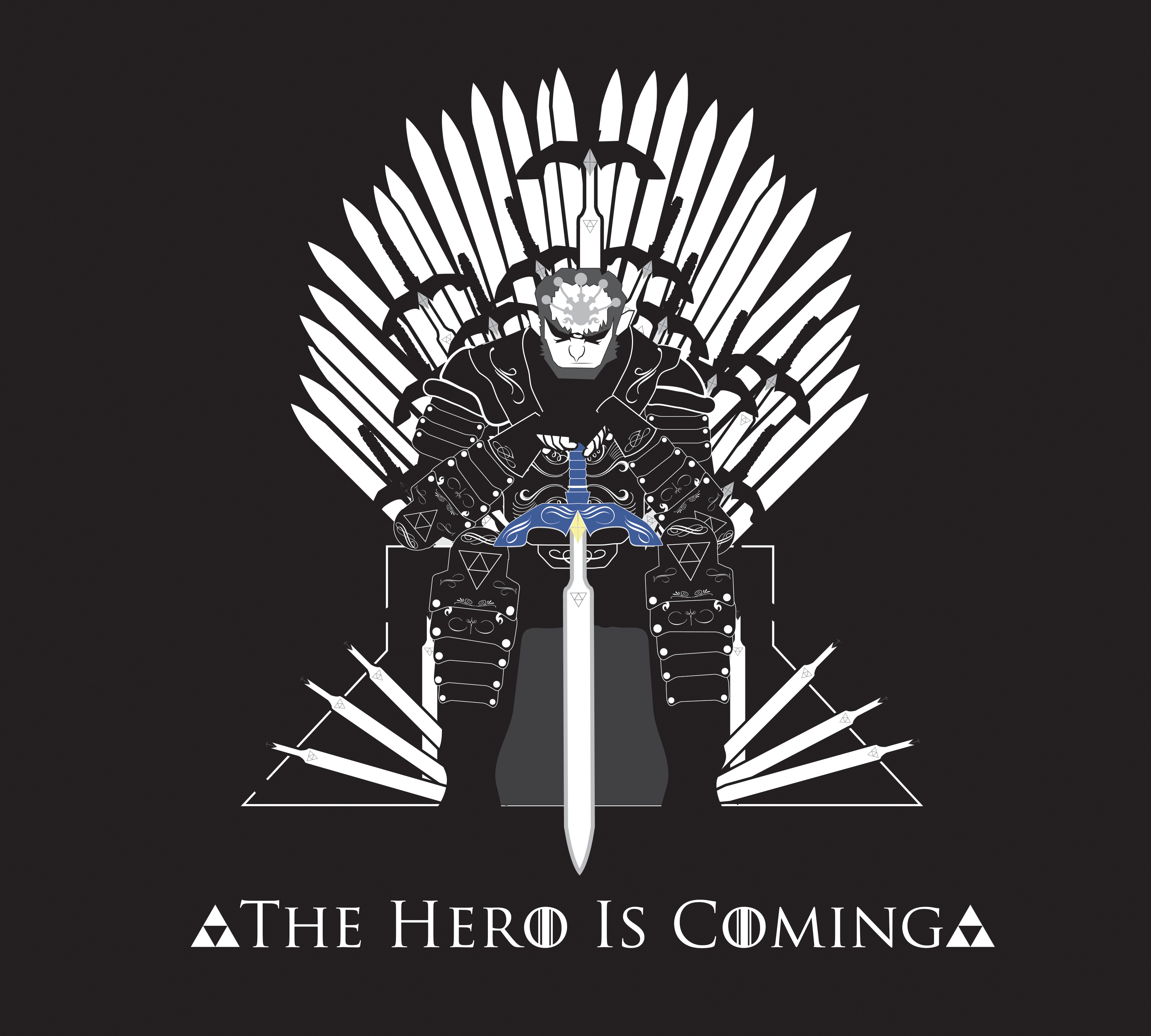 The Hero Is Coming