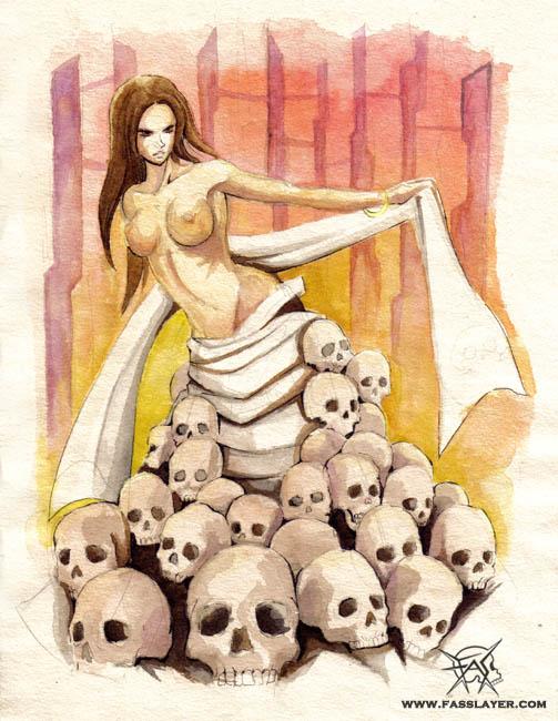 Skull maiden