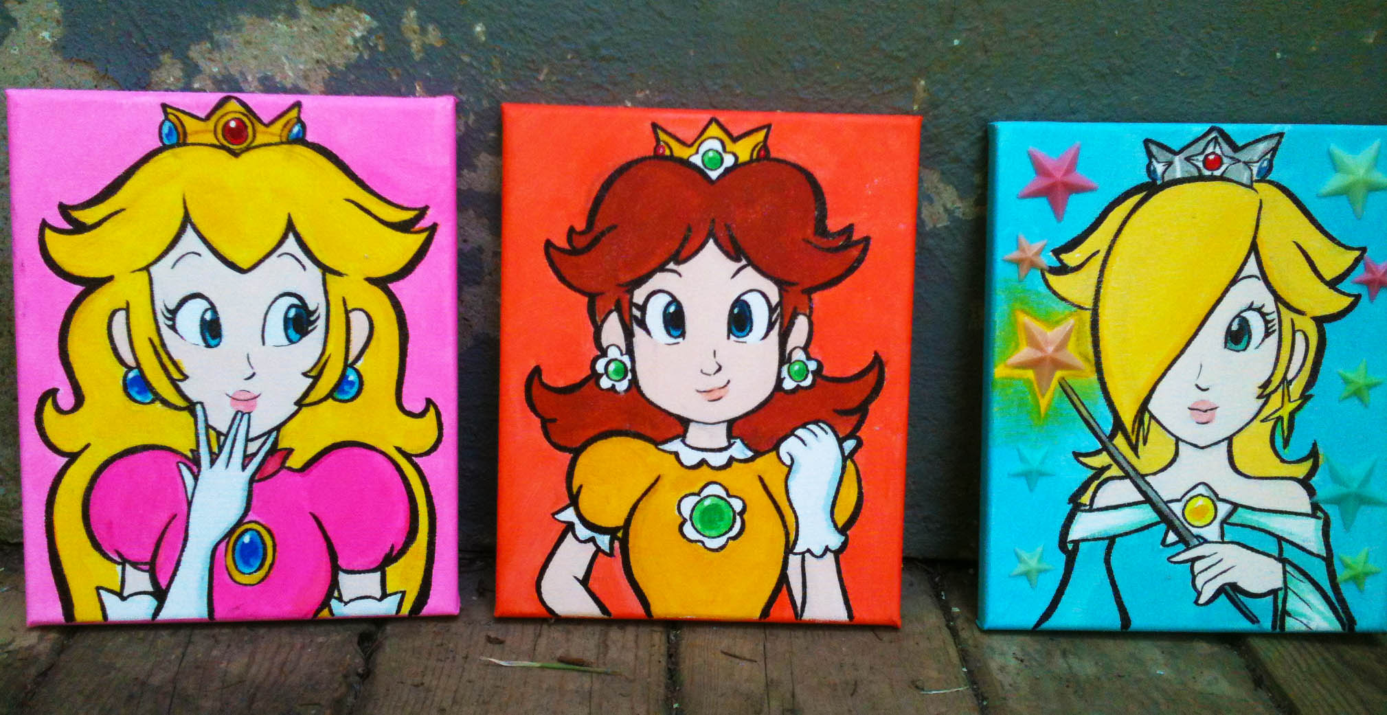 Princess Paintings!