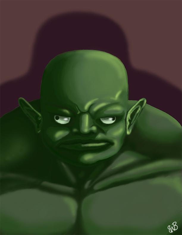 Grumpy Orc