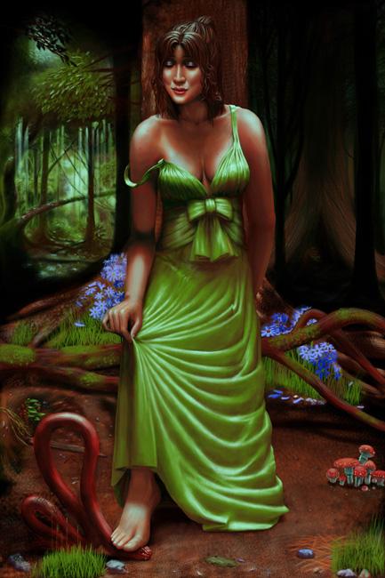 Portraits - Green