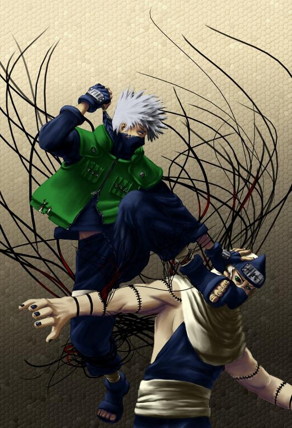 Kakashi vs Kakuzu
