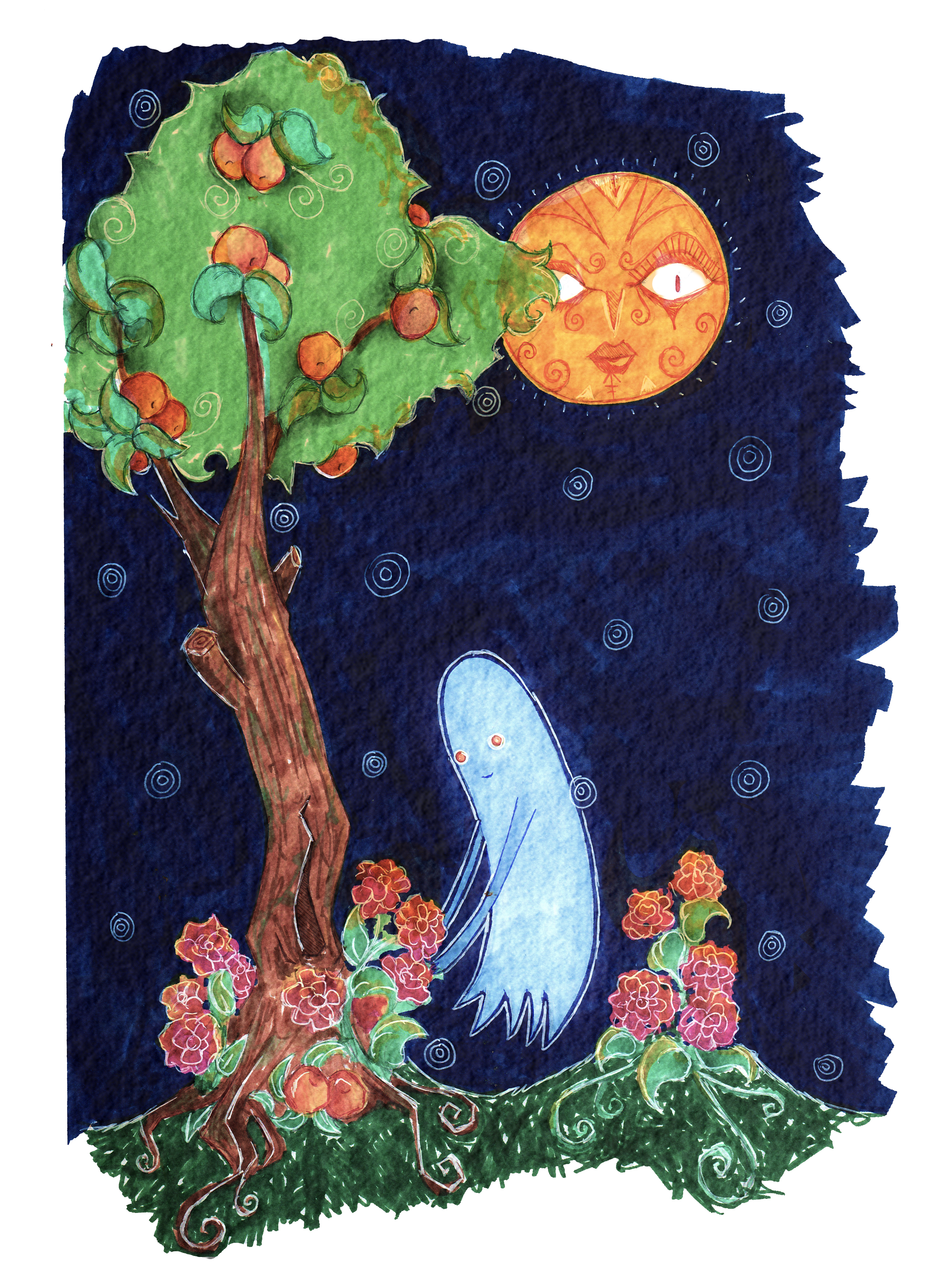 Haunted Peach Tree