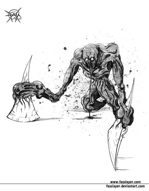 axe monster