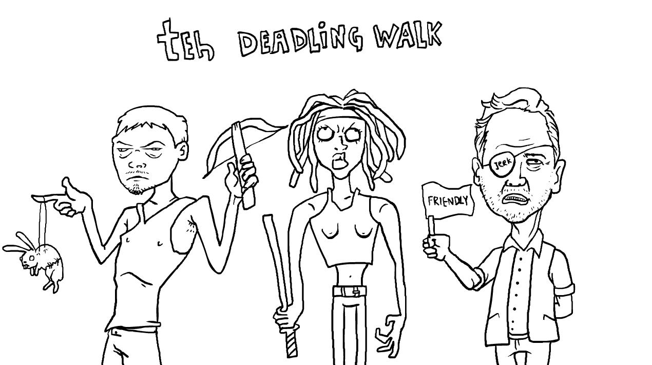 teh walking dead