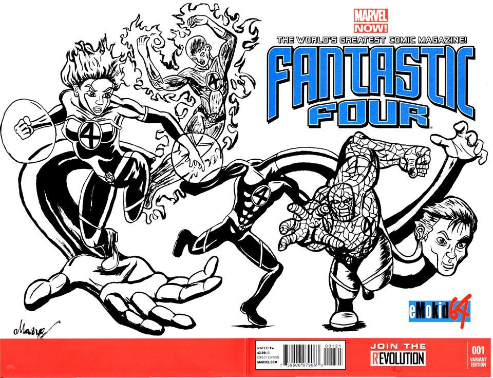 Fantastic 4 Blank issue #1