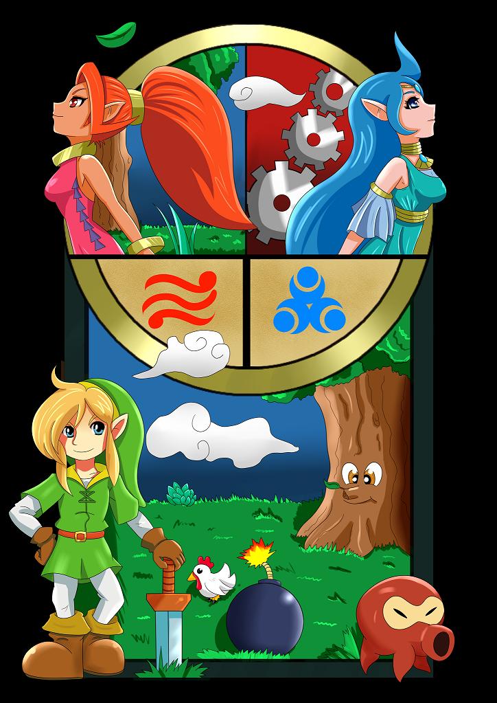 Zelda Oracles Fan Art