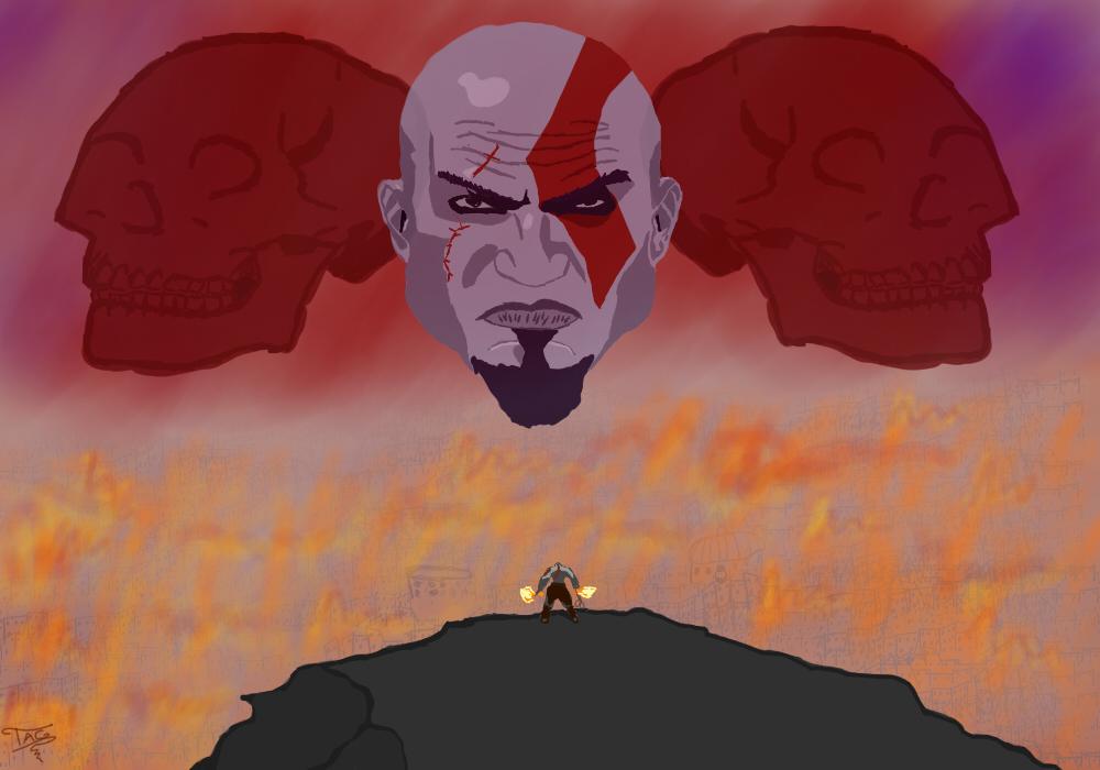 Kratos Destruction