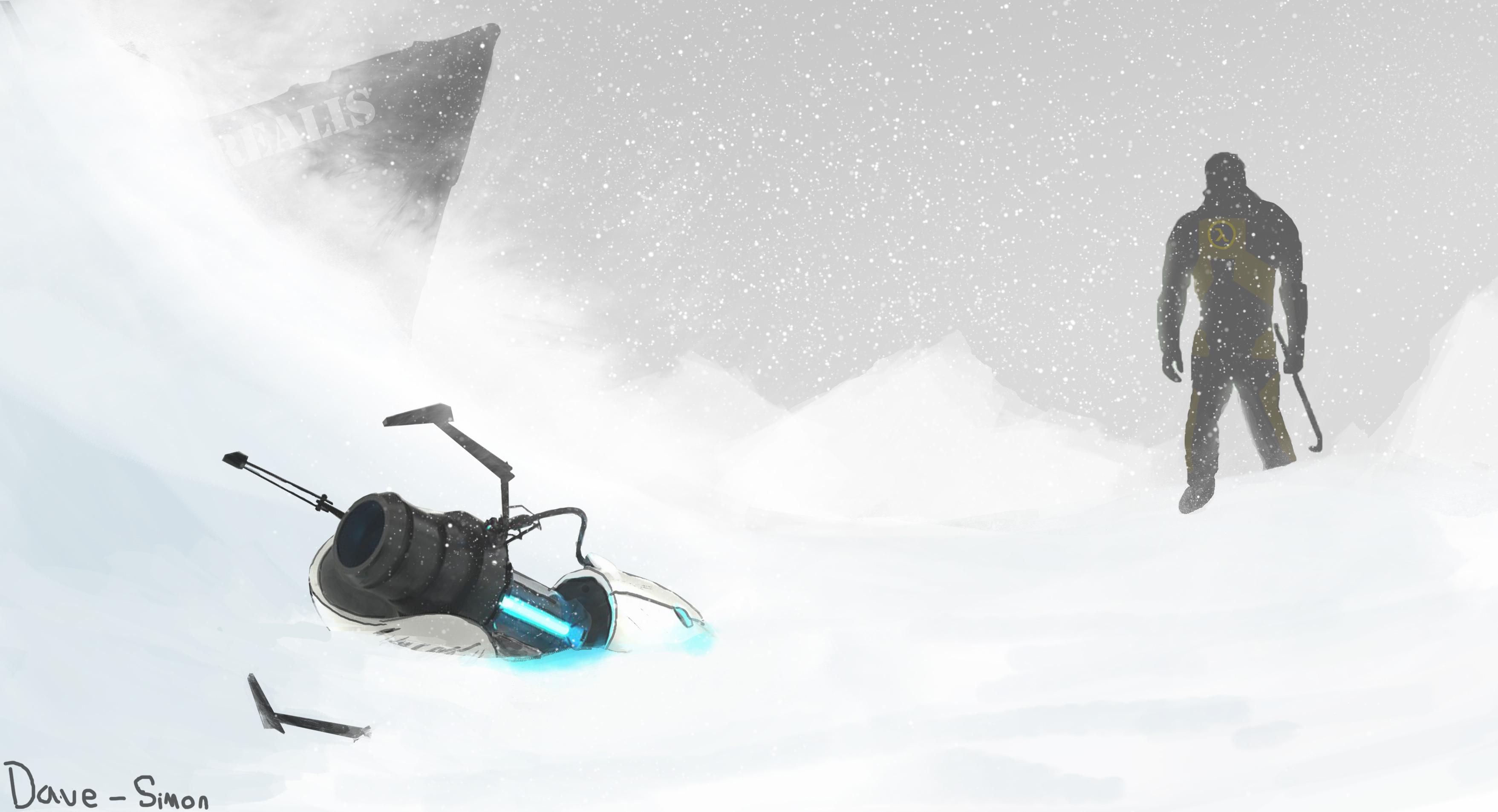 Half Life 3 Concept Art