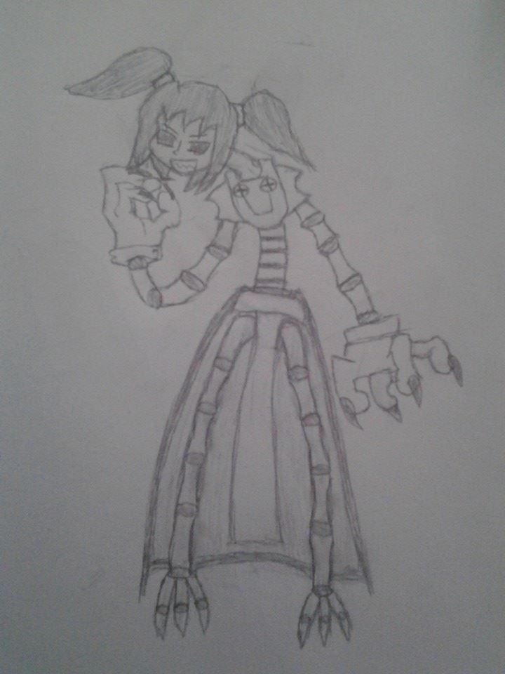 skullgirls oc rose (boss)
