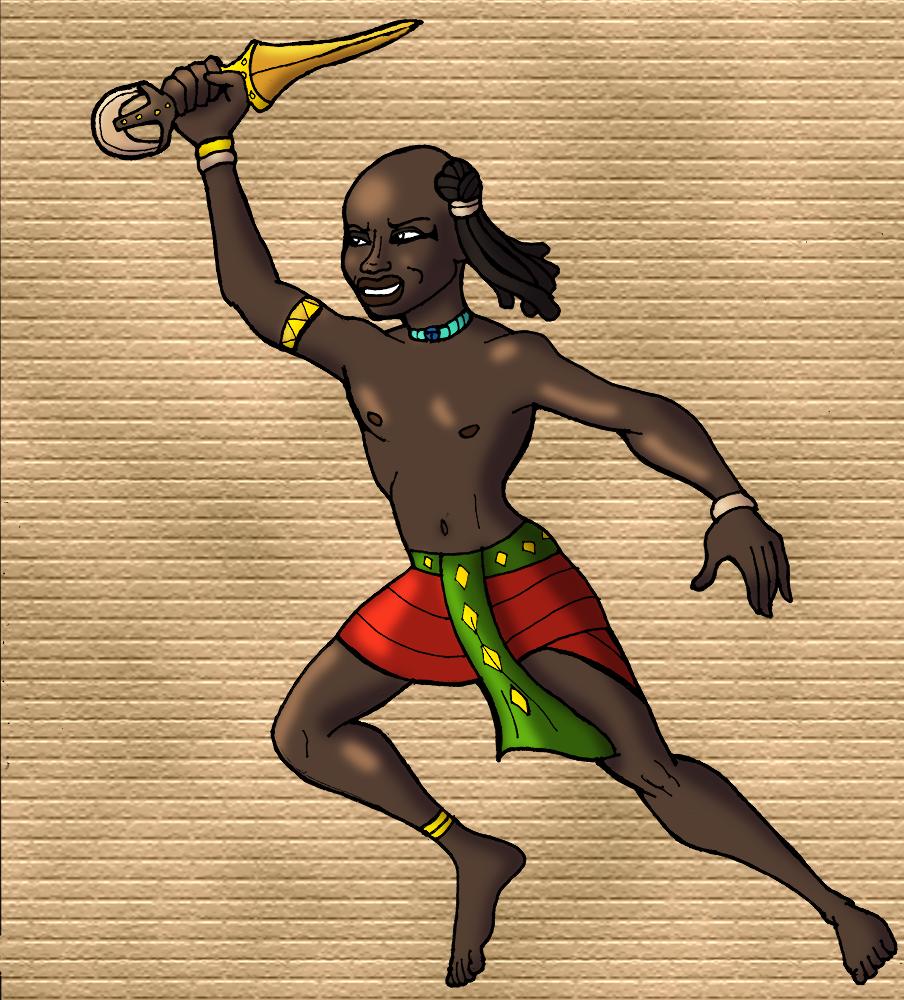 Nubian Playtime