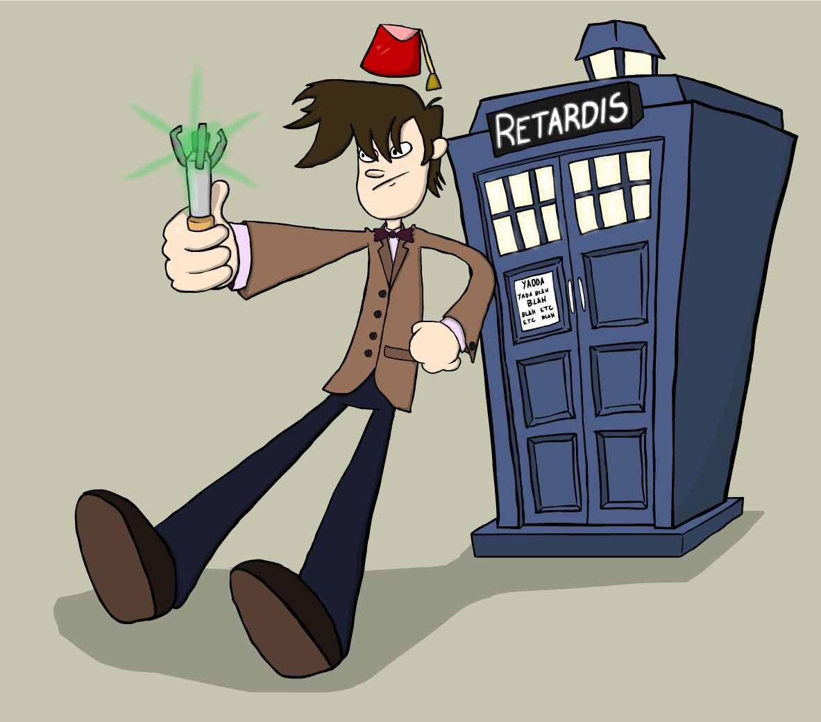 Doctor Derp and the RETARDIS