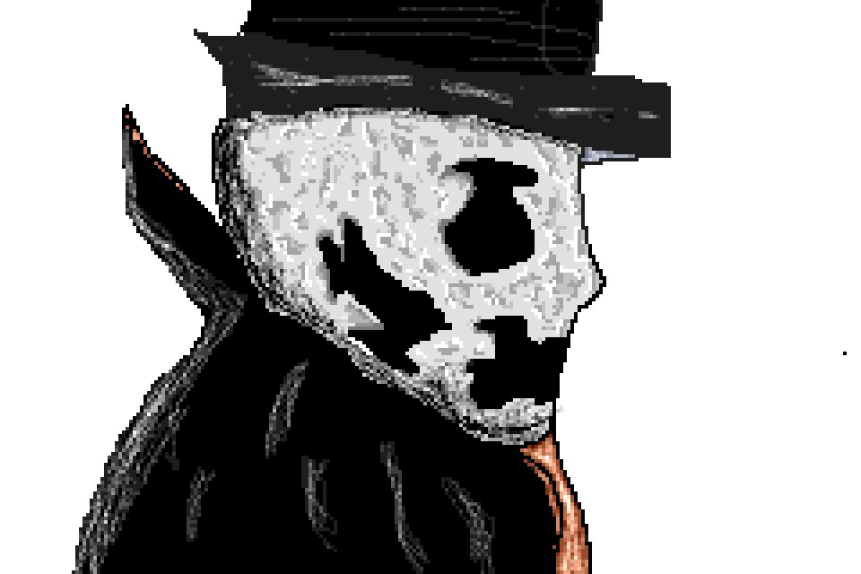 Badly Made Rorschach