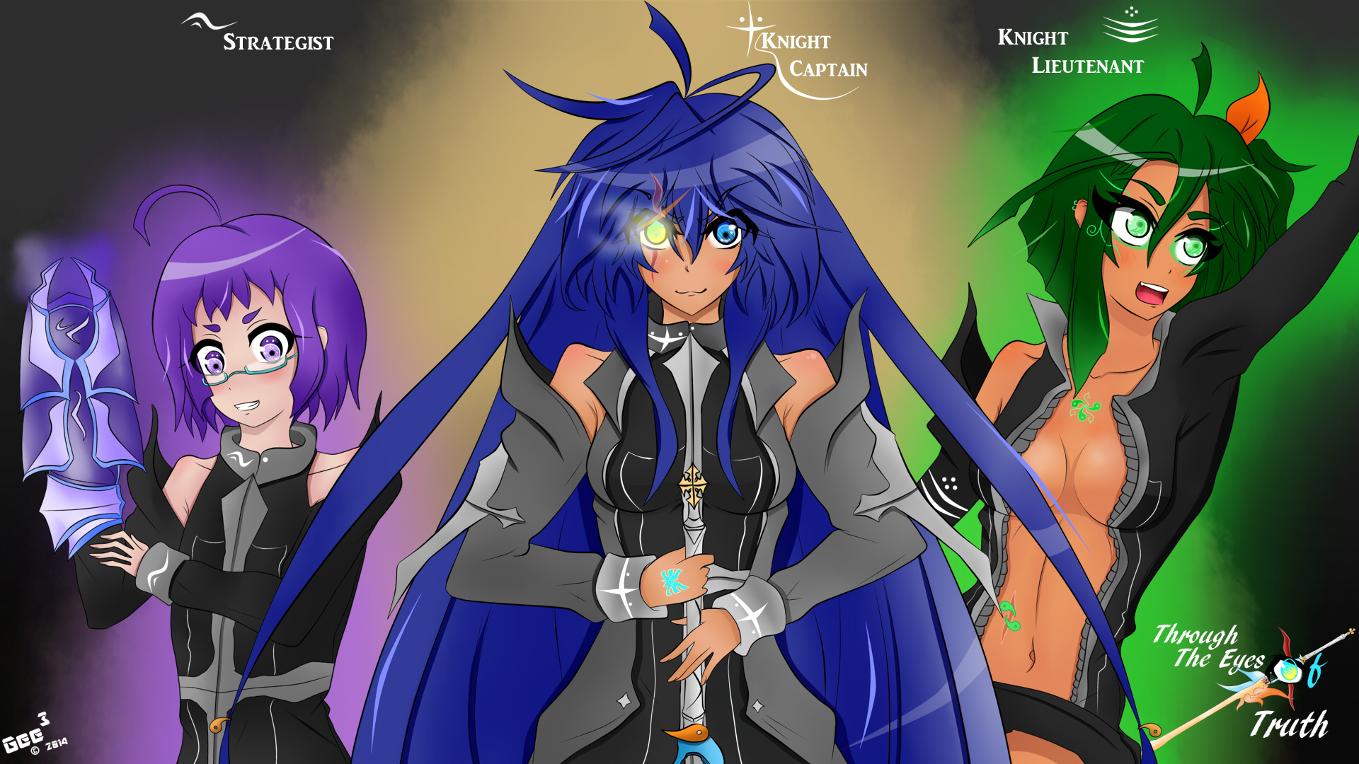 TtEoT Main Characters