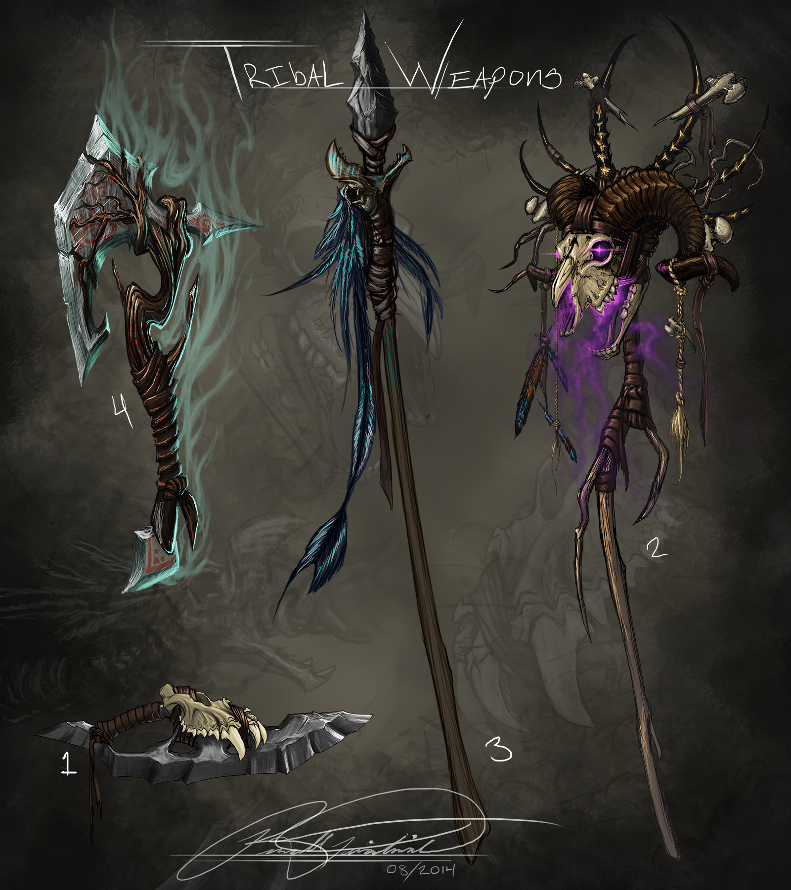 Tribal Weapons