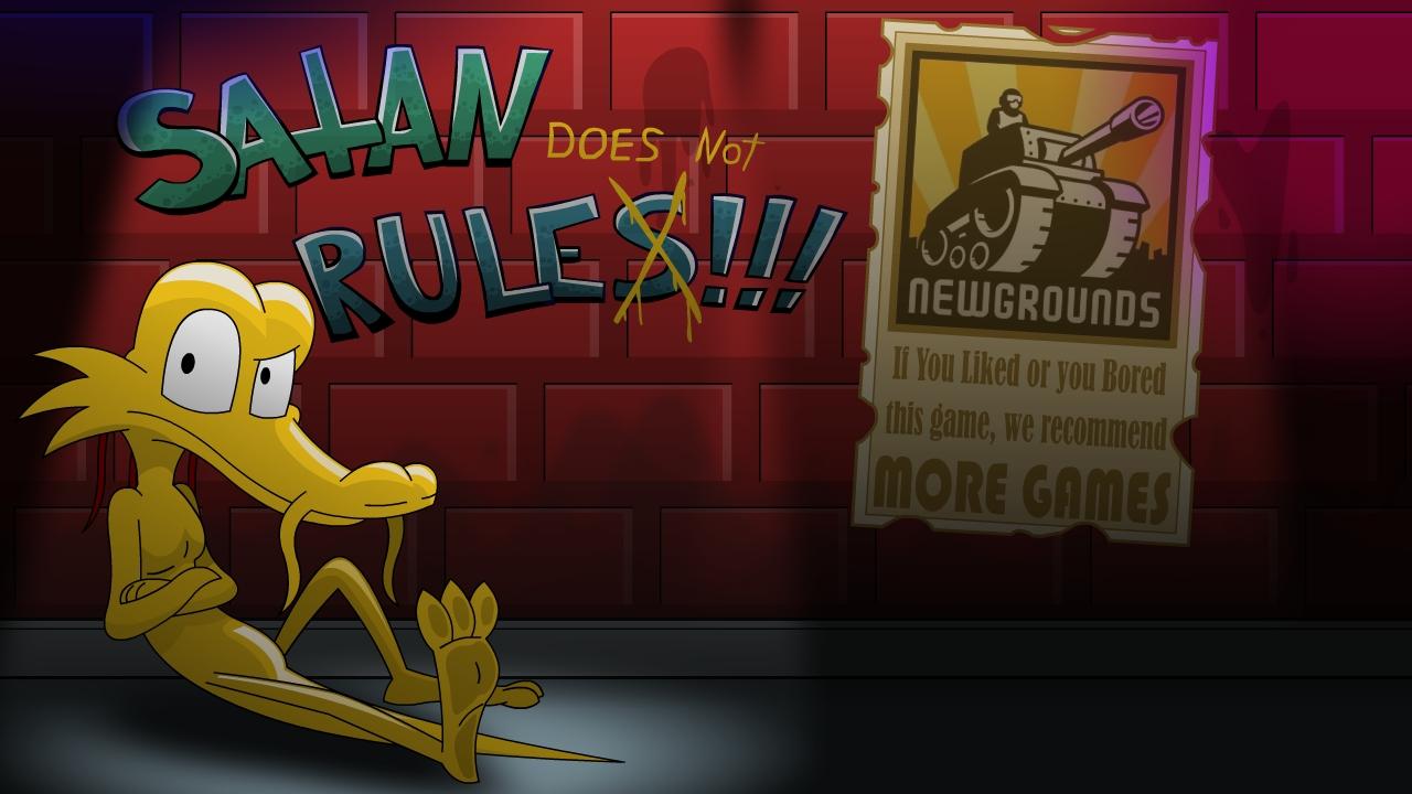 Satan does not rule!