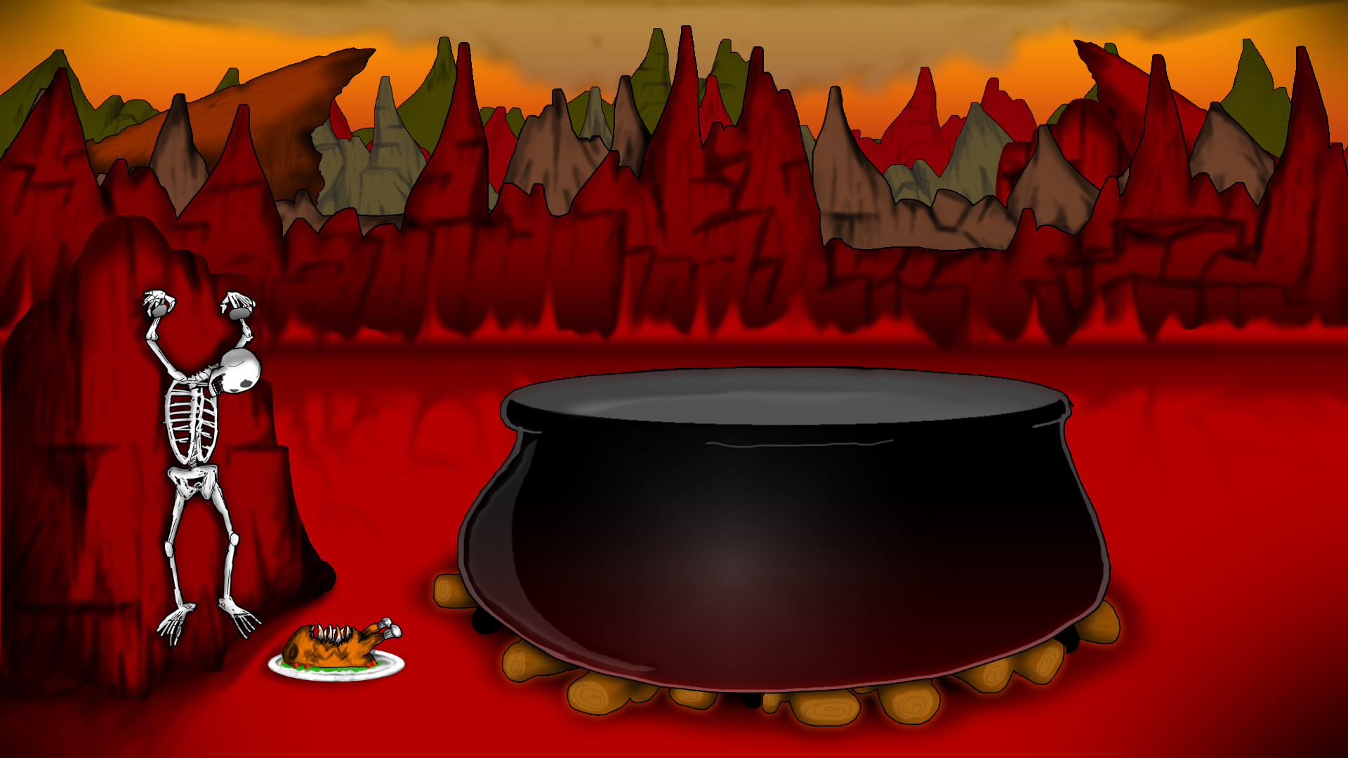 Cooking With Satan Background