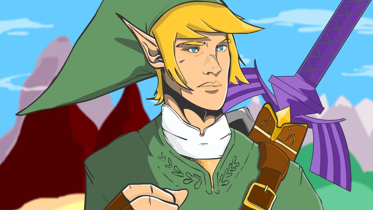 Zelda from the Legend of Mario